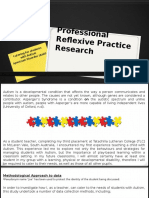 assignment 2 - professional reflexive practice research