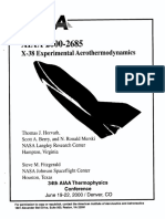 X-38 Experimental Aerother_ao(Lynamics