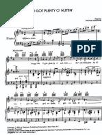 George Gershwin - I Got Plenty O Nuttin.pdf
