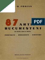 87 artişti bucureşteni din teatru, operă şi revistă - portrete, biografii, amintiri.pdf