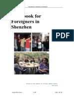 Handbook for Foreigners in Shenzhen