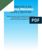 Introduccion a los generos literarios, teoria y ejercicios.pdf