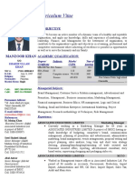 Resume Updated as on 16052015