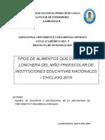 Proyecto de Investigacion Final 2015