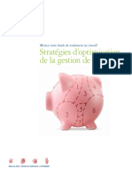CA Fr FA Strategies Doptimisation de La Gestion de Tresorerie