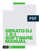 Serato DJ 1.9.1 Software Manual - English