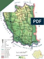 Harta Judetul Galati