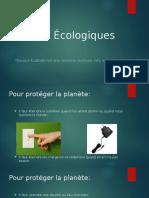 Gestes Écologiques - Catarina 9ºA