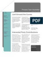 Pinnacle Team May-June 2010 Newsletter