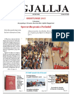 "Gazeta ""Ngjallja"" Janar 2016"