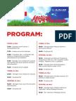 SD Festival Levstikova 2016 - program dogodkov