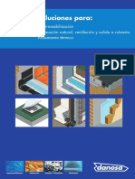 DANOSA-Guía de Soluciones Básicas Para Impermeabilizacion, Aislamiento Térmico e Iluminación Natural