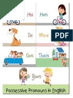 Possessive Pronouns 2