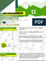Waarderen van duurzaamheid (April 2016, Dutch)
