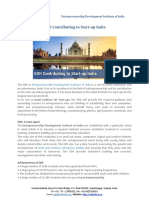 EDII Contributing to Start-up India