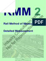 Rail Method of Measurement 2 Detailed Measurement