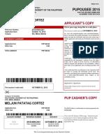 MELJUN CORTES Pup Voucher 2015 Payment