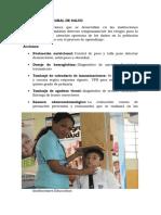 Paquetes de salud escolar