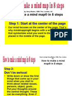 How to Makemind Maps 8 Steps