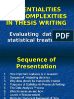 MELJUN CORTES RESEARCH Lectures Evaluating Data Statistical Treatment