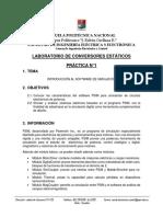 Practica 1. Introduccion a Software de Simulacion