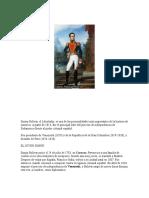 Trabajo Unefa - Resumen de Bolivar