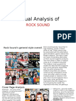 Textual Analysis of RockSound