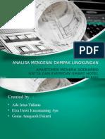 Amdal Apartement Soekarno Hatta