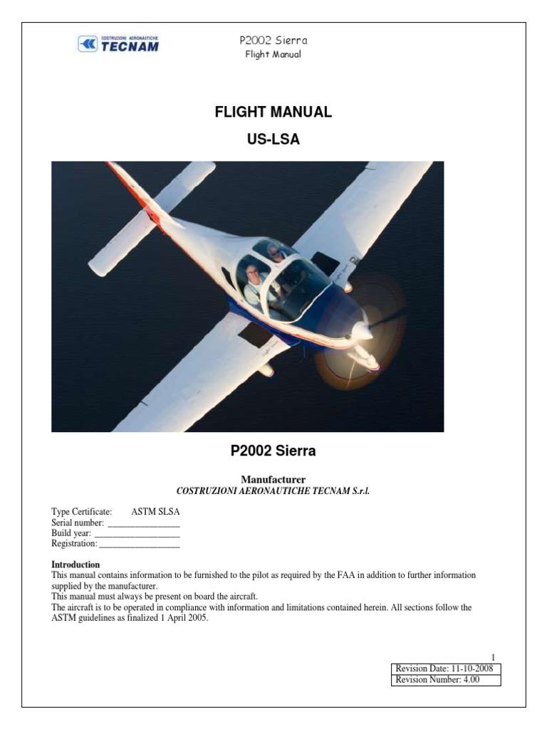 tecnam p2002 flight manual turbine engine failure flight control rh scribd com Tecnam P2006T Tecnam P2002 Sierra Drawing