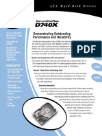 Maxtor Diamondmax D740X datasheet