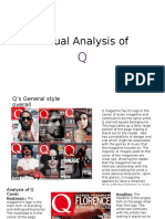 Textual Analysis of Q