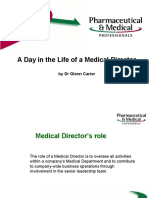 A Day in the Life of a Medical Director