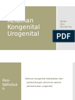 Wida Ayu 03011307 - Kelainan Kongenital Urogenital
