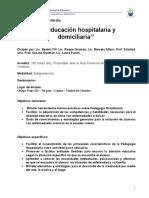 educacion domiciliaria hospitalaria