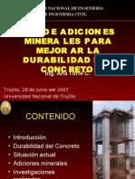 Adiciones Minerales - Ana Torre