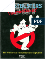 Ghostbusters International Rpg