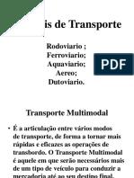 Atividade - Modais de Transporte