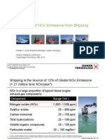 Reduction of NOx Emissions From Shipping