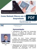 Docslide.com.Br Como Reduzir Riscos Em Contratos de Empreitada Apresentacao Feita Na Construtech Da Pini Em Out2013
