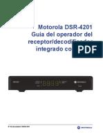 DSR-4201 Operator Guide - Spanish v2