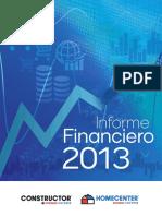 Informe de Gestion Anual 2013