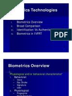 IVFRT Biometrics