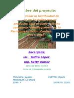 proyecto de Huerto escolar 2015.docx