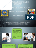 Manejo de paciente sistemico