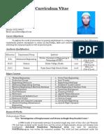 Curriculum Vitae of Jakaria_Signed