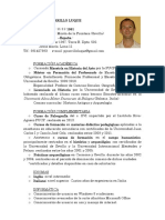 Curriculum Vitae Lima