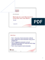 Methods for Land Reclamation Using Soft Soil and Waste
