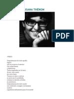 Poemas de Susana Thénon