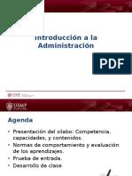 01.01 Introducción a La Administración