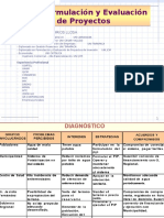 Formulacion y Evaluación de Proyectos - Causas y Efectos-medios y Fines Gestión Pública